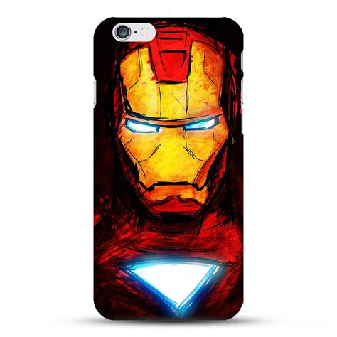 Ironman Mask Hardcase Iphone 7 7 Plus All Type Ip marvel superheroes cases for iphone 5 5se 6 6s 6 6s plus