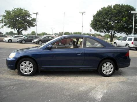 used 2001 honda civic ex coupe for sale stock 1l066024