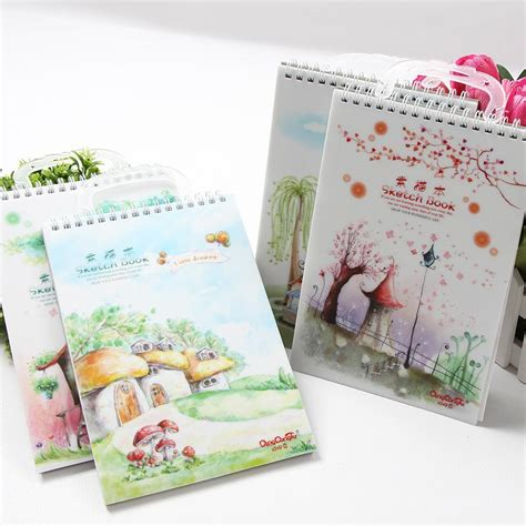 sketchbook cheap a4 a5 a4 sketchbook diary drawing graffiti painting blank