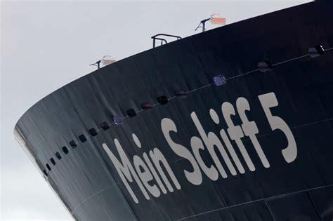 Taufe der Mein Schiff 5 live per Webcam