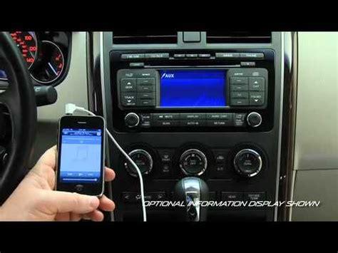 2007 mazda cx 7 aux input 2011 2007 mazda cx 9 auxiliary audio input tutorial