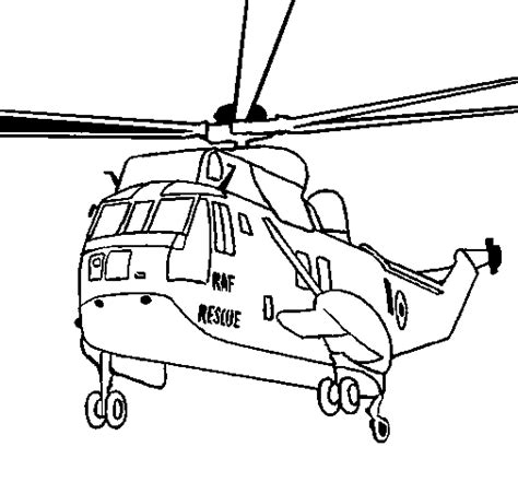 coloring pages rescue vehicles helicopter to the rescue coloring page