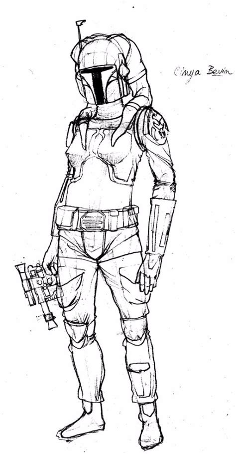Mandalorian Armor Coloring Pages Mandalorian Coloring Pages