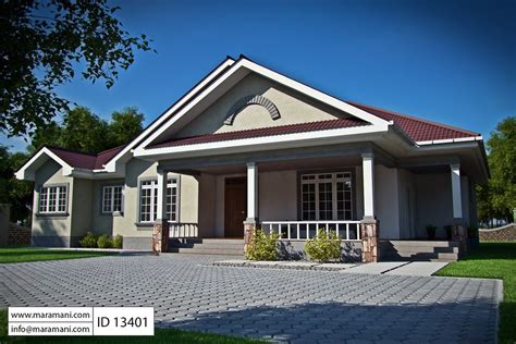 three bedroom bungalow house plans 3 bedroom bungalow house plan id 13401 house plans by maramani