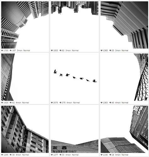 instagram black layout surreal black and white instagram collages ignant com