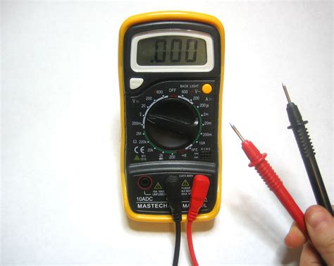Probe Multimeter command center multimeter current voltage resistance