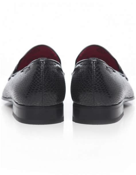mens skull loafers jeffery west jung skull loafers in black for lyst