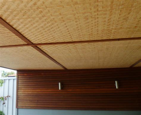 The Bamboo Ceiling by Bamboo Panels And Bamboo Woven Panels