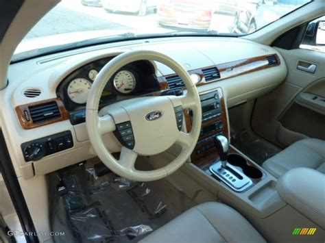 Ford Five Hundred Interior by Pebble Beige Interior 2006 Ford Five Hundred Limited Awd