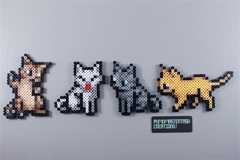 perler bead cat gatitos gatos kittem cats perler hama