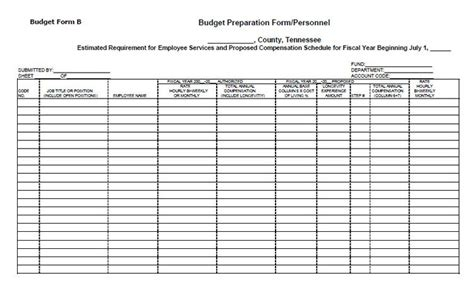 Zba Release Letter Budget Preparation Form Personnel E Li