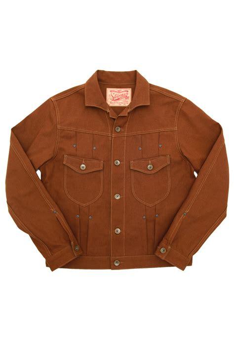 Brown Canvas Jacket stevenson overall co slinger jacket brown canvas