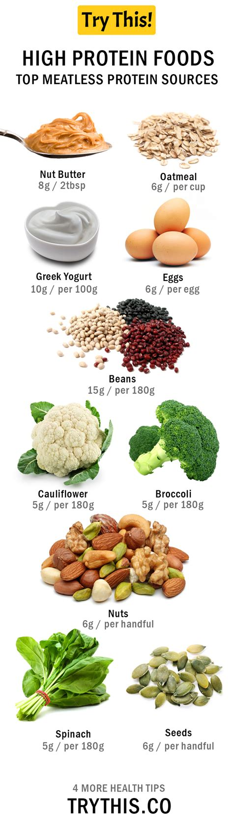 best high protein food high protein foods top meatless protein foods health tips try this