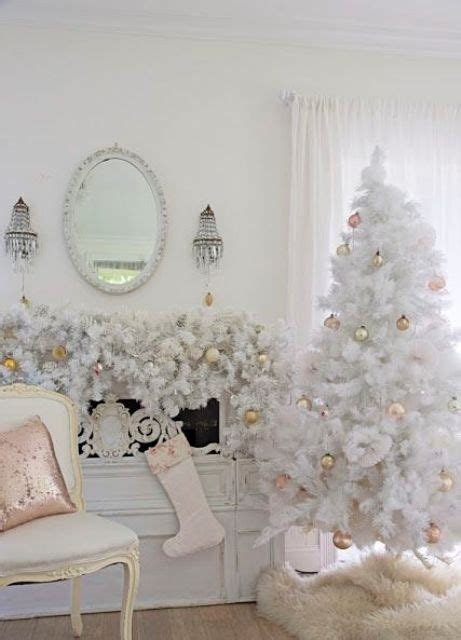 white ornaments for a tree 33 chic white tree decor ideas digsdigs