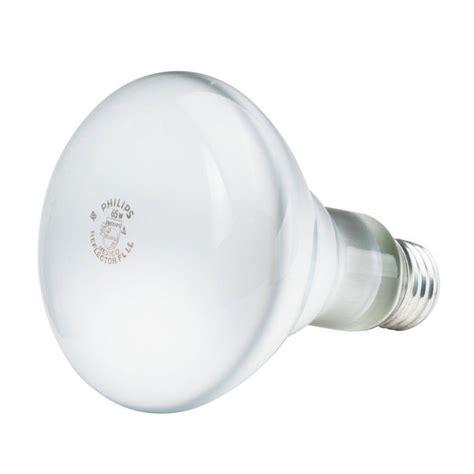 Lu Philips 65 Watt philips 65 watt incandescent br30 tuffguard coated flood light bulb 12 pack 201905 the home