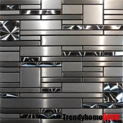 metallic kitchen backsplash 25 best ideas about stainless steel backsplash tiles on