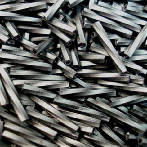 matte twisted 12mm miyuki twisted bugles matte black miyuki