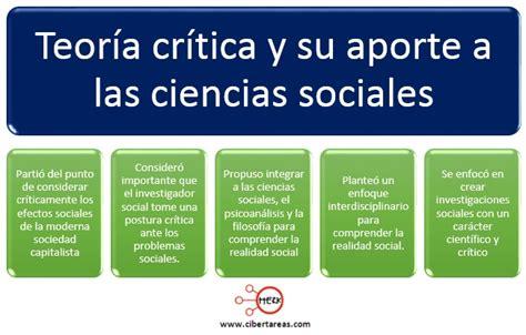 revista cccss contribuciones a las ciencias sociales teor 237 a critica introducci 243 n a las ciencias sociales