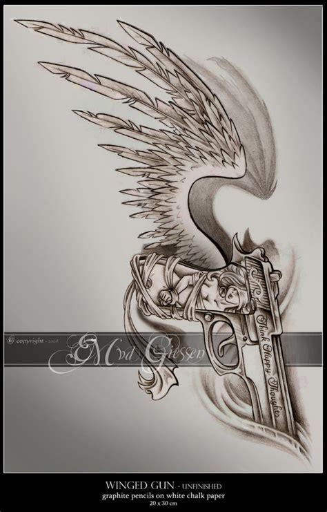 tattoo flash gun gun tattoos and designs page 17