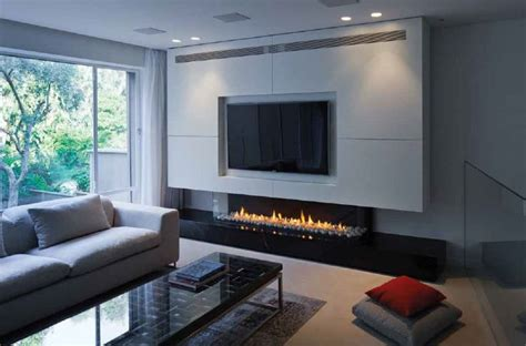 Low Fireplaces by A Gas Fireplace Low Three Sided Gas Fireplace