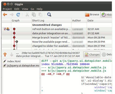 tutorial git cola explain git client