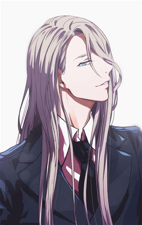 anime boy hair it s canon victuri yuri anime and