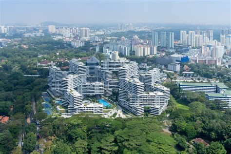appartments singapore the interlace vertical village apartment complex in