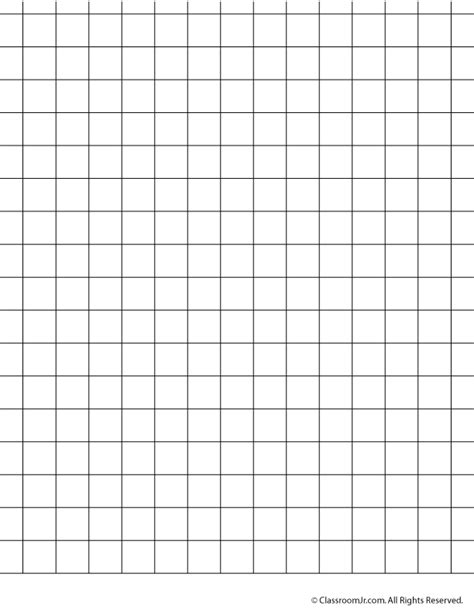 Printable graph paper and grid paper 1 5 cm grid paper classroom