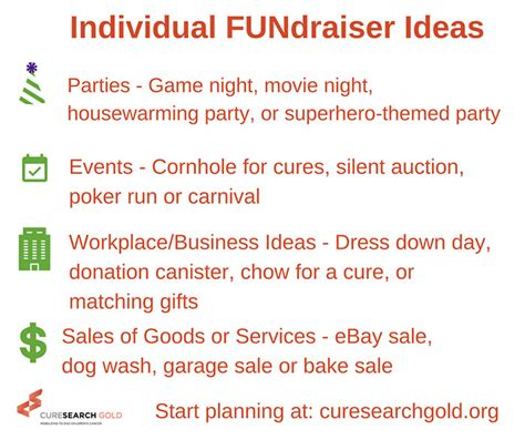 fundraiser ideas fundraiser ideas to support children s cancer research