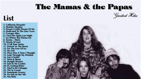 mamas and papas best of the mamas and the papas greatest hits album 2016