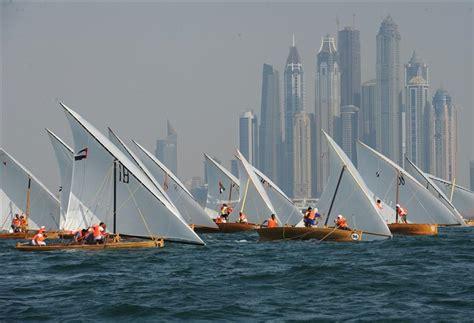 sailing boat dubai dubai traditional 22ft sailing dhow race round 2