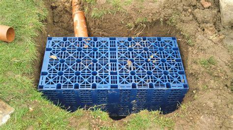 soakaway construction    environmental impact
