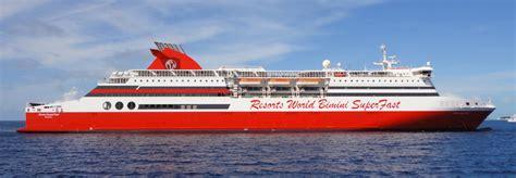 fast boat bimini bimini superfast debuts daily cruise travelage west