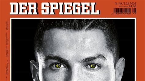 dekor spiegel real madrid der spiegel accuses cristiano ronaldo of tax