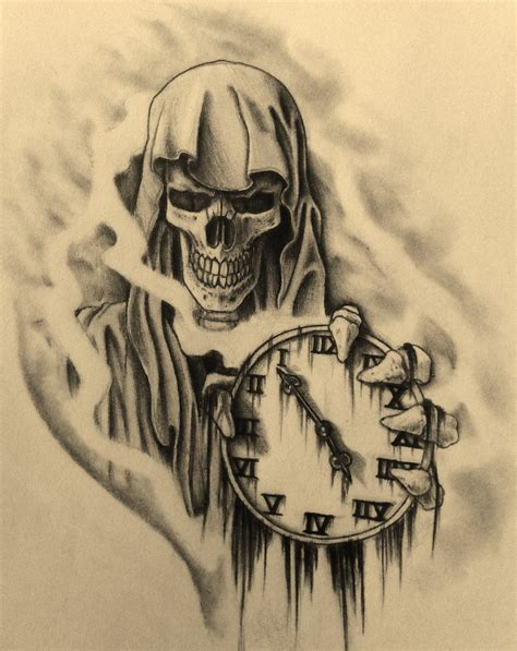 grim reaper hourglass tattoo 1000 images about grim