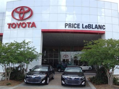 Toyota Dealers Baton Price Leblanc Toyota Baton La 70817 Car