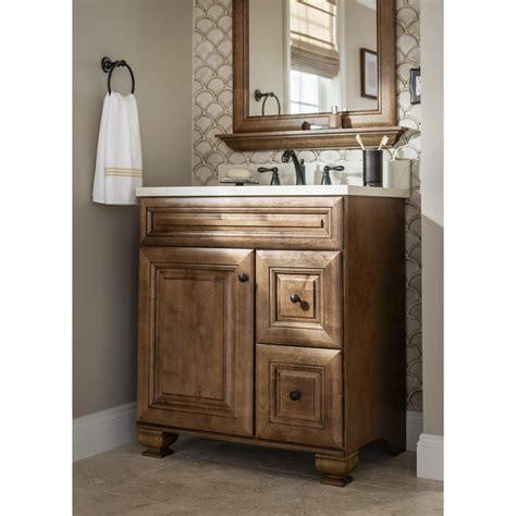 Lowes Custom Vanity a rich mocha vanity brings warmth to your bathroom bathroom inspiration