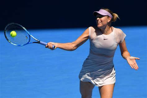 australian open 2018 sharapova australian open 01 16 2018