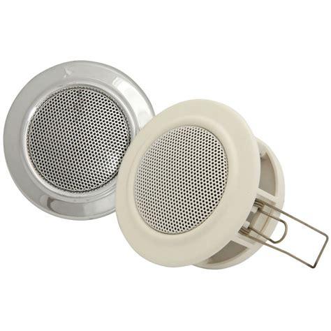 white light style ceiling speaker