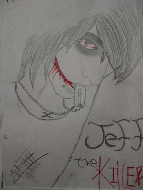imagenes de jeff the killer para dibujar a lapiz facil dibujo jeff the killer creepypastas amino amino