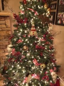 Country christmas tree christmas decorating ideas pinterest