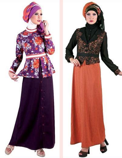 Baju Muslim Dewasa Masa Kini 15 Contoh Gambar Baju Gamis Muslim Terpopuler 2015