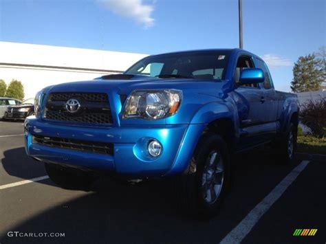 2011 Toyota Tacoma Trd Sport Specs by 2011 Speedway Blue Toyota Tacoma V6 Trd Sport Access Cab
