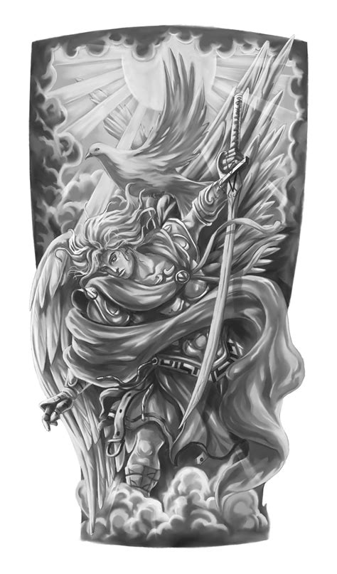 quarter sleeve tattoo sketches design final jpg 881 215 1500 tattoos pinterest tattoo