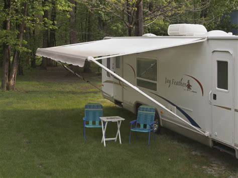 retractable trailer awnings travel trailers awnings rainwear