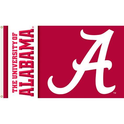 alabama crimson tide 3ft x 5ft team flag logo design 2