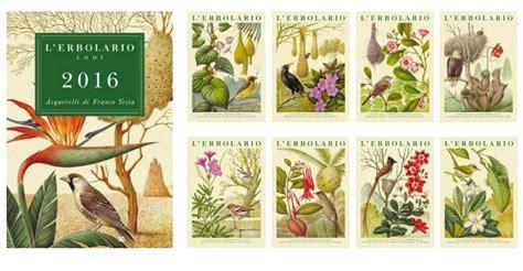 L Calendario Calendario E Agendina L Erbolario 2016 In Regalo