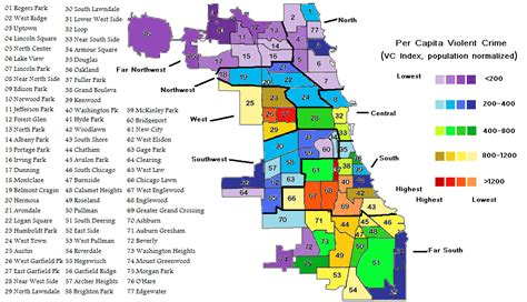 englewood chicago map chicago crime all the statistics you don t want to be
