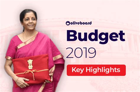 union budget   updates key highlights facts
