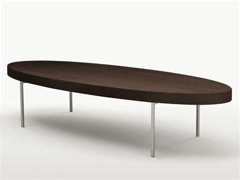 ebe tappeti tavolino basso ovale in legno massello ebe tavolino